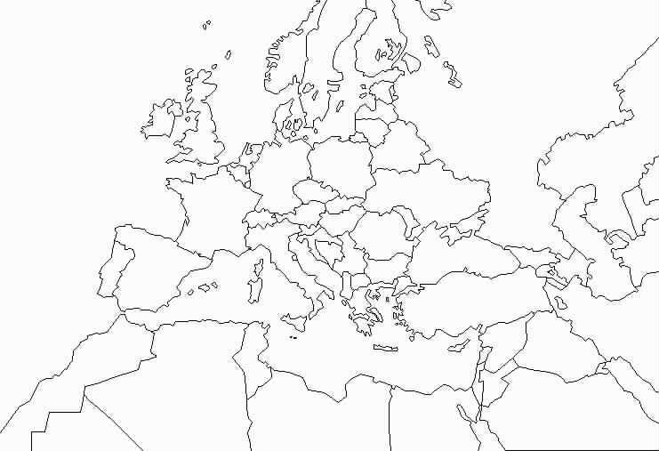 Carte Europe Bassin Mediterraneen.Telechargement Fonds De Cartes Europe