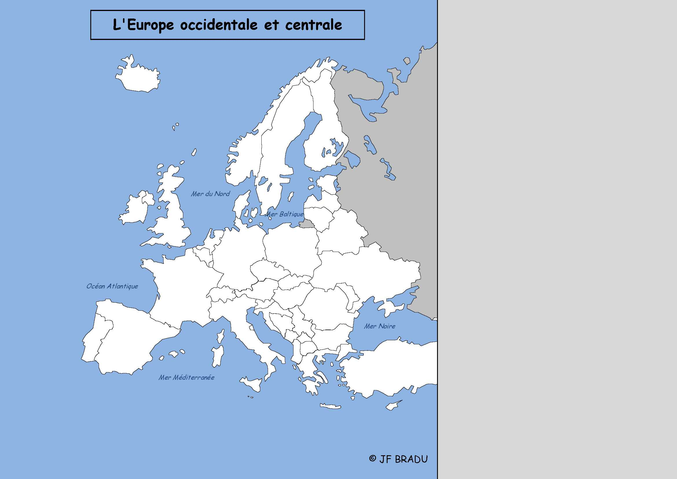carte europe interactive powerpoint