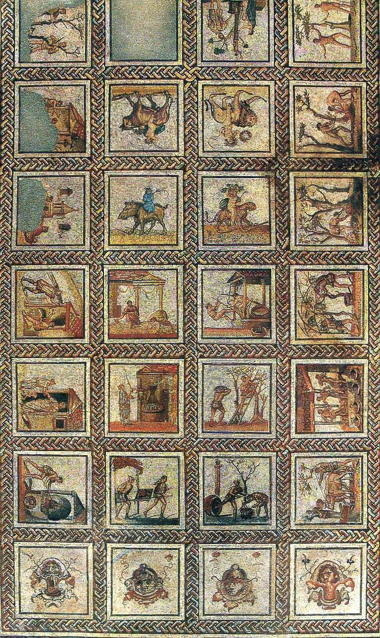 Mosa que de saint romain en gal mus e de st germain en laye for Comment coller de la mosaique